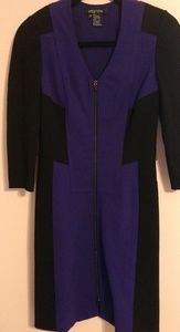 {ETCETERA} Purple and Black Dress Size 00